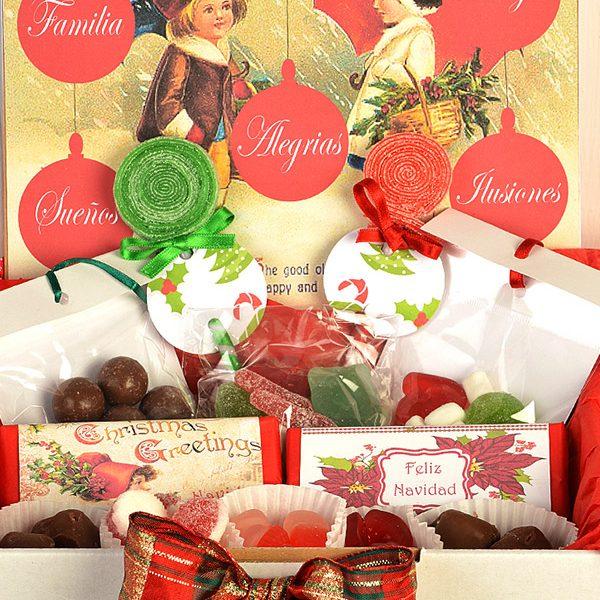 Candy Box Feliz Navidad