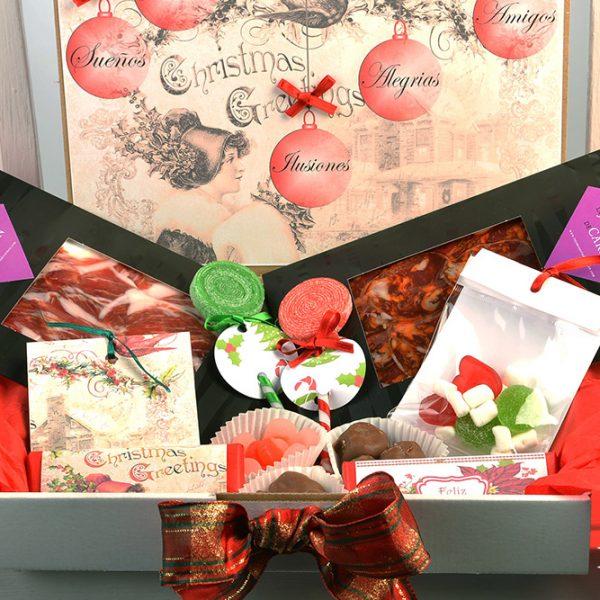 Candy Box Navidad Premium
